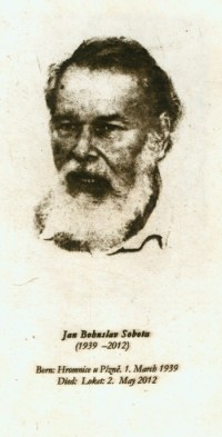 Remembering Jan Bohuslav Sobota by Ladislav R. Haka Jan ...
