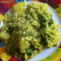 Risotto ai broccoli e patate