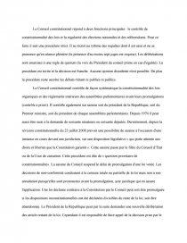 Citation Sur Le Conseil Constitutionnel : citation, conseil, constitutionnel, Conseil, Constitutionnel, Dissertation