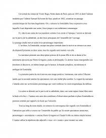 Victor Hugo Notre Dame De Paris Extrait : victor, notre, paris, extrait, Commentaire, Danse, D'Esmeralda, Roman, Notre, Paris, Victor, Documents, Gratuits, Dissertation