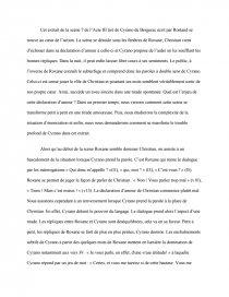 Cyrano De Bergerac Acte 3 Scène 7 : cyrano, bergerac, scène, Commentaire, L'acte, Scène, Pièce, Théâtre, Cyrano, Bergerac, D'Edmond, Rostand, Recherche, Documents, Dissertation