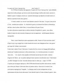 La Guerre De Troie N Aura Pas Lieu Analyse : guerre, troie, analyse, Guerre, Troie, N'aura, Dissertation, Rosanegra