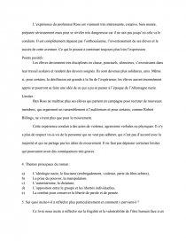 La Vague Todd Strasser Questionnaire De Lecture : vague, strasser, questionnaire, lecture, Vague, Strasser, Commentaire, Texte, Lolo120