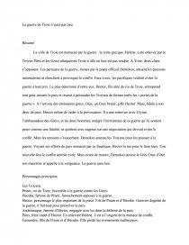 La Guerre De Troie N Aura Pas Lieu Analyse : guerre, troie, analyse, Guerre, Troie, N'aura, Dissertation, Islamova