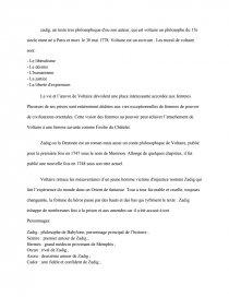 Zadig De Voltaire Fiche De Lecture : zadig, voltaire, fiche, lecture, Zadig,, Voltaire, Fiche, Lecture, Dissertation