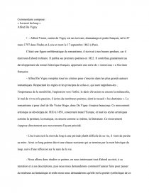 Vigny La Mort Du Loup : vigny, Alfred, Vigny, Texte