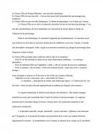 Resume La Venus D Ille : resume, venus, Vénus, D'Ille, Rapports, Stage, Dissertation