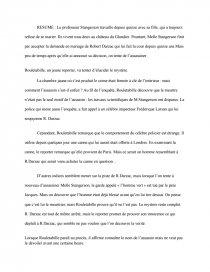 Le Mystère De La Chambre Jaune Questionnaire Lecture : mystère, chambre, jaune, questionnaire, lecture, Résumé, Mystère, Chambre, Jaune, Fiche, Lecture, Dissertation