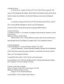 La Princesse De Clèves Résumé Détaillé : princesse, clèves, résumé, détaillé, Personnages, Princesse, Clèves, Lafayette, Recherches, Dissertation