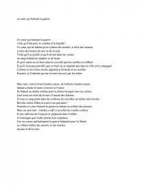 Robert Desnos Ce Coeur Qui Haïssait La Guerre : robert, desnos, coeur, haïssait, guerre, Étude, Poème, Coeur, Haïssait, Guerre, Robert, Desnos, Commentaires, Composés, Dissertation