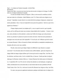 La Religion Est L'opinion Du Peuple : religion, l'opinion, peuple, Dissertation, Partir, Citation:, Religion, L'opium, Peuple, Rapports, Stage