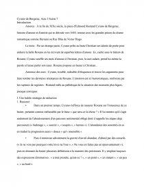 Résultats Page 7 acte 3 scene 10 cyrano de bergerac | Etudier