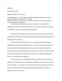 Pierre Et Jean Controle De Lecture Seconde : pierre, controle, lecture, seconde, Maupassant,, Préface, Pierre, Fiche, Lecture, Tyranides