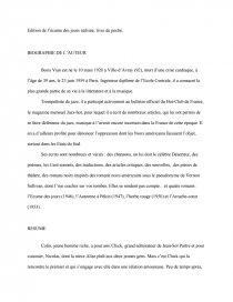 Résumé L écume Des Jours : résumé, écume, jours, L'écume, Jours,, Boris, Dissertation, Avril