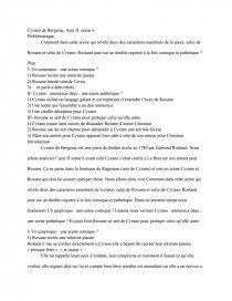 Cyrano De Bergerac Acte 3 Scène 7 : cyrano, bergerac, scène, Cyrano, Bergerac,, Scène, Edmond, Rostand, Dissertations, Gratuits