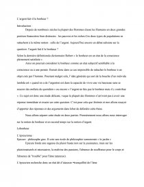 L Argent Fait-il Le Bonheur : argent, fait-il, bonheur, L'argent, Bonheur?, Thèse, Lalola987