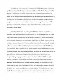 Je N'ai Plus Que Les Os Analyse : analyse, Dissertations, Gratuits, Gabouminou