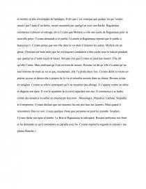 Cyrano De Bergerac Résumé Par Acte : cyrano, bergerac, résumé, Cyrano, Bergerac,, Résumé, L'acte, Dissertations, Gratuits, MC232901