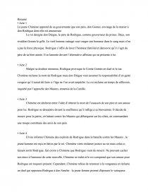 Le Cid De Corneille Résumé : corneille, résumé, Résumé, Corneille, Documents, Gratuits, ArnaudkneLL