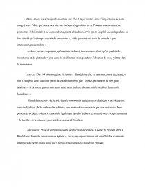 Étude du poème Ciel Brouillé de Charles Baudelaire