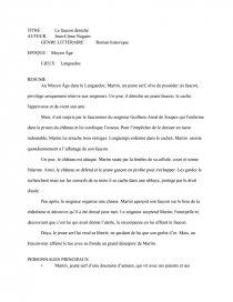 Le Faucon Déniché Résumé Par Chapitre : faucon, déniché, résumé, chapitre, Faucon, Déniché, Fiche, Lecture, LeplusbeauFelix