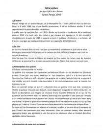 Le Parti Pris Des Choses Pdf : parti, choses, Fiche, Lecture, Parti, Choses, FabyCC