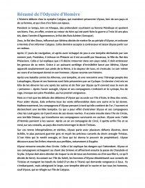 Résumé L Odyssée D Homère : résumé, odyssée, homère, Résumé, L'Odyssée, D'Homère, Dissertation, 123sesti