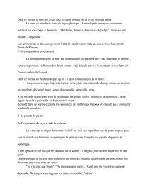 Je N'ai Plus Que Les Os Analyse : analyse, Commentaire, Poème, Pierre, Ronsard, Texte, Adrien, Ruffie