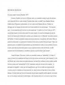 Un Coeur Simple Flaubert Résumé : coeur, simple, flaubert, résumé, Extrait, Coeur, Simple