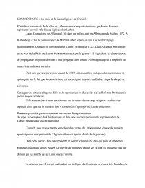 La Vraie Et La Fausse église - Note de Recherches - bigkiki91