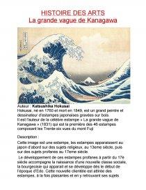 La Grande Vague De Kanagawa Histoire Des Arts : grande, vague, kanagawa, histoire, Grande, Vague, Kanagawa, Katsushika, Hokusai, Commentaire, D'oeuvre, Kaneeeki