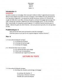 Dom Juan Résumé Scène Par Scène : résumé, scène, Juan,, Molière,, Scène, Fiche, Lecture, Claire81
