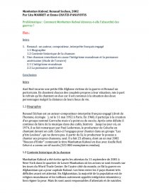 Manhattan Kaboul Histoire Des Arts : manhattan, kaboul, histoire, Manhattan, Kaboul,, Renaud, Sechan,, 2002., Commentaire, D'oeuvre, Millekittylastar