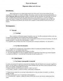 Mignonne Allons Voir Si La Rose Analyse : mignonne, allons, analyse, Mignonne,, Allons, Ronsard, Commentaire, Texte, Killerxpshot