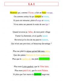 Heureux Qui Comme Ulysse Texte : heureux, comme, ulysse, texte, Lecture, Analytique, Heureux, Comme, Ulysse,, Bellay, Commentaire, Texte, Guitar