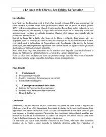 Commentaire Le Loup Et Le Chien : commentaire, chien, Chien, Fontaine, (Commentaire, Composé), Commentaire, Texte, Baloux