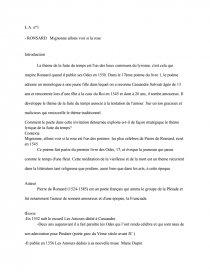 Mignonne Allons Voir Si La Rose Analyse : mignonne, allons, analyse, Poesie, Mignonne, Allons, Pierre, Ronsard, Images