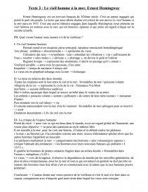 Le Vieil Homme Et La Mer Analyse : vieil, homme, analyse, Vieil, Homme, Hemingway, Commentaire, Texte, Mollusque3445