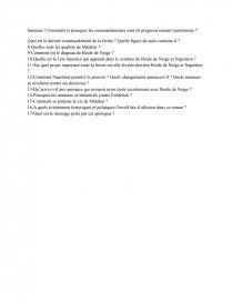 La Ferme Des Animaux Questionnaire : ferme, animaux, questionnaire, Questionnaire, Ferme, Animaux, George, Orwell
