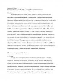 Au Sujet D'un Enfant Monstrueux : sujet, enfant, monstrueux, Montaigne,, Essais,, Livre, 1595,, Sujet, Enfant, Monstrueux, Dissertation, Martin, Bernard