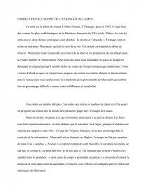 L Incipit De L étranger : incipit, étranger, Incipit,, L'étranger,, Albert, Camus, Commentaire, Texte, ADN72