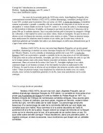 L école Des Femmes Analyse Des Personnages : école, femmes, analyse, personnages, Molière,, Ecole, Femmes,, Scène, Commentaire, Texte, Nounours8