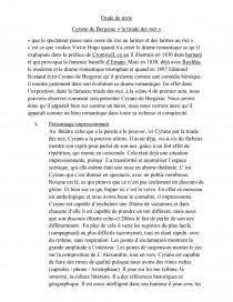 Cyrano De Bergerac La Tirade Du Nez : cyrano, bergerac, tirade, Cyrano,, Tirade, Commentaire, Texte, Mathildegall