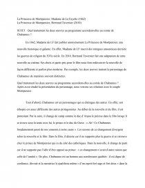 Résumé La Princesse De Montpensier : résumé, princesse, montpensier, Personnage, Chabannes, Princesse, Montpensier, Dissertation, Vixtorine
