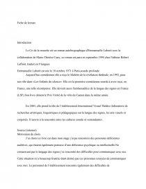 Le Cri De La Mouette Resume : mouette, resume, Mouette,, Emmanuelle, Laborit, Fiche, Lecture, Layana