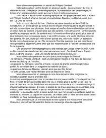 Philippe Grimbert Un Secret Résumé : philippe, grimbert, secret, résumé, Secret, Philippe, Grimbert, Fiche, Lecture, Valentin