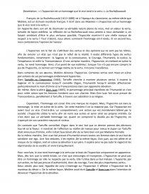 L'hypocrisie Est Un Hommage Que Le Vice Rend à La Vertu : l'hypocrisie, hommage, vertu, Dissertation, L'hypocrisie, Hommage, Vertu, Rochefoucauld, Eugénie, Drecq