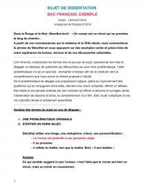 Le Roman Est Un Miroir : roman, miroir, Dissertation, Stendhal, Roman, Miroir, Promène, Chemin