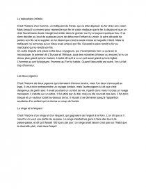 Résumé Fables De La Fontaine Livre 9 : résumé, fables, fontaine, livre, Résumé, FABLES, FONTAINE, Livre, Cours