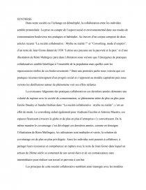 Seul Avec Tous Bts Corpus : corpus, Synthese, Synthèse, Chloé